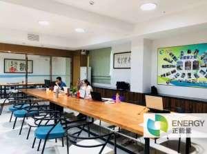 无电照明系统轻松实现办公室健康照明板材生产线